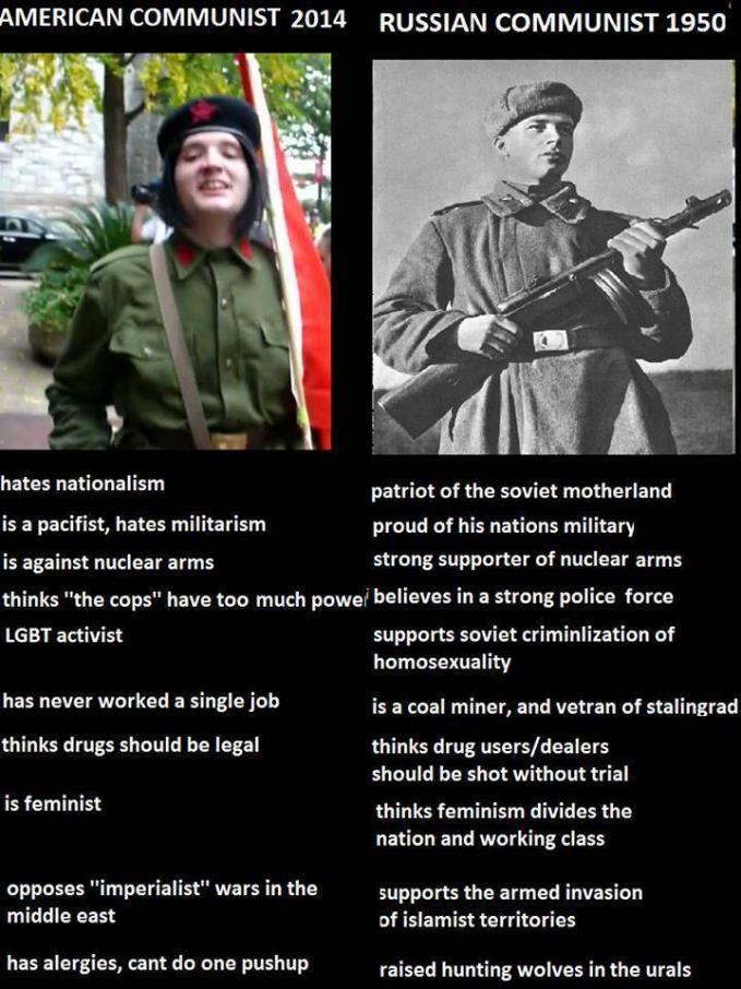 Perbedaan komunis dulu dan sekarang.