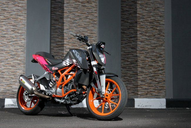 modifikasi ktm duke by ilham. Black Bedroom Furniture Sets. Home Design Ideas