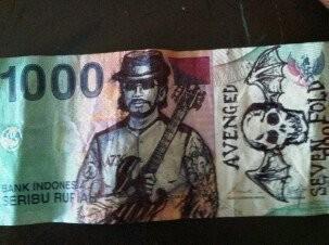 Jadi rocker, gitarisnya Avenged Sevenfold