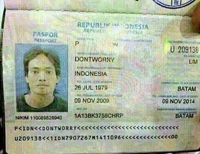 Dont Worry jangan khawatir! apa coba maksud nama orang ini hahaha