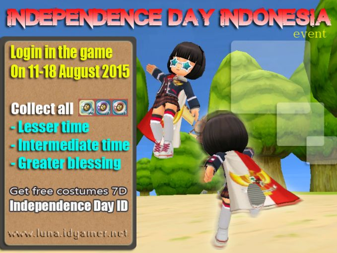 Decade luna plus online private server - independence day indonesia