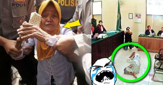 Sedih! Gara-gara Mencuri Minyak Kayu Putih, Nenek Ini Dihukum Rp 15 Juta!