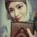 Ayana, Muslimah Cantik Asal Korsel yang Bisa Bikin Hati Adem Ayem