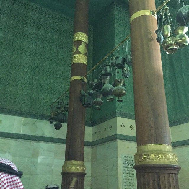 Lampu Kabah zaman salaf. (sumber: ilmfeed.com)