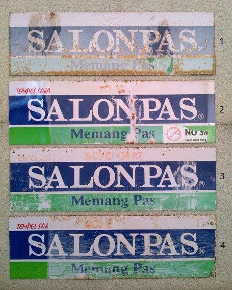Salon Pas = koyo Selain salon pas, sebenernya ada banyak koyo cabe. salah satunya diproduksi oleh hansaplast