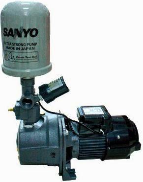 Sanyo = Pompa air Padahal Banyak merk-merk selain sanyo...tapi pengucapannya ya Sanyo untuk Semua Pompa Air