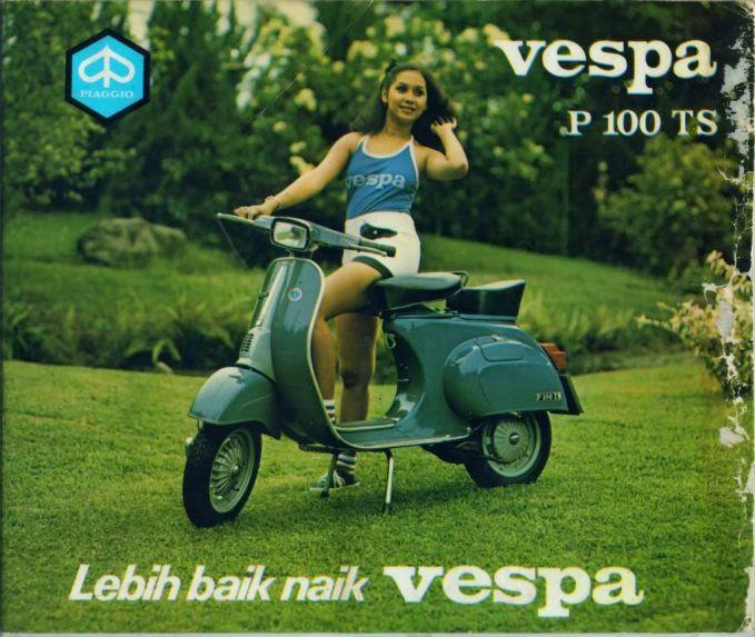 Scooter itu cuma satu Vespa hahaha