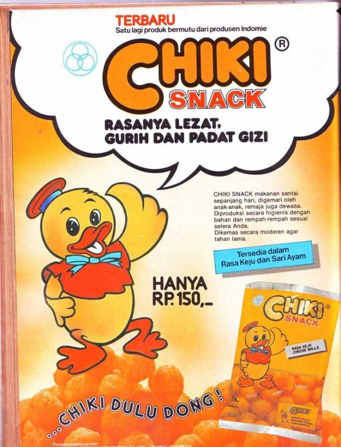 Apapun Merk makanan ringan, Semua namanya Chiki...Biasanya Ortu kalo ngingetin ke anaknya Jangan Beli Chiki nanti batuk lho...