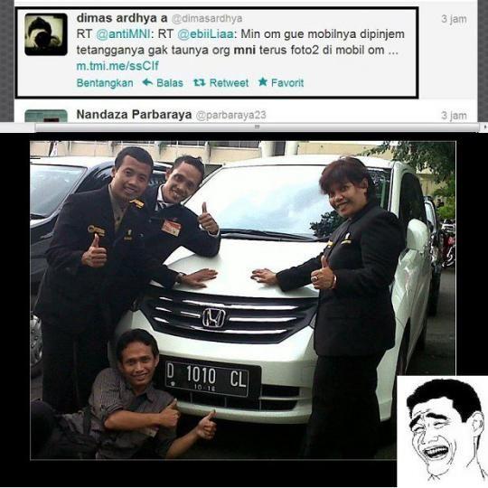 Buat Naekin Pamor, Sampe Pinjem Mobil Orang Buat FOTO *motor satu buat di Klaim semua orang :D