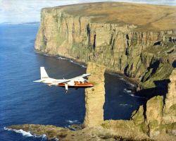 Hanya 47 Detik, Penerbangan Komersial Paling Singkat Di Dunia!