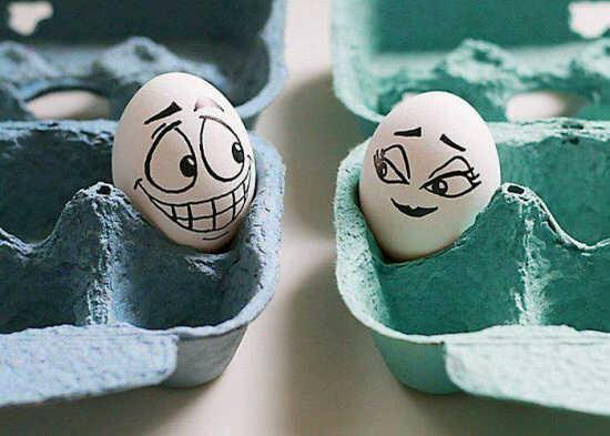 EGG ! Kumpulan Gambar Telur Lucu dan Unik Bikin Senyum-senyum Sendiri