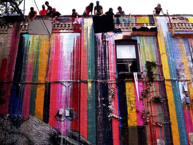 New York Kota ini kaya dengan sejarah dan budaya. Tidak ketinggalan juga kekayaan akan street art nya