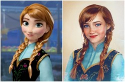 Begini Wajah Tokoh Kartun Disney Bila Hidup di Dunia Nyata, Asli Cantik Banget!