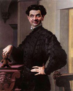 NGAKAK! Wajah Mr. Bean Di Lukisan Terkenal