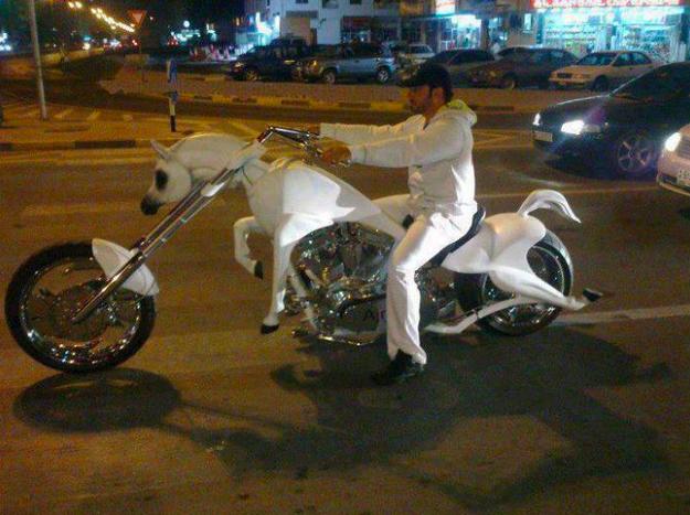 Ini mungkin Bener2 Pangeran Berkuda (besi) Putih