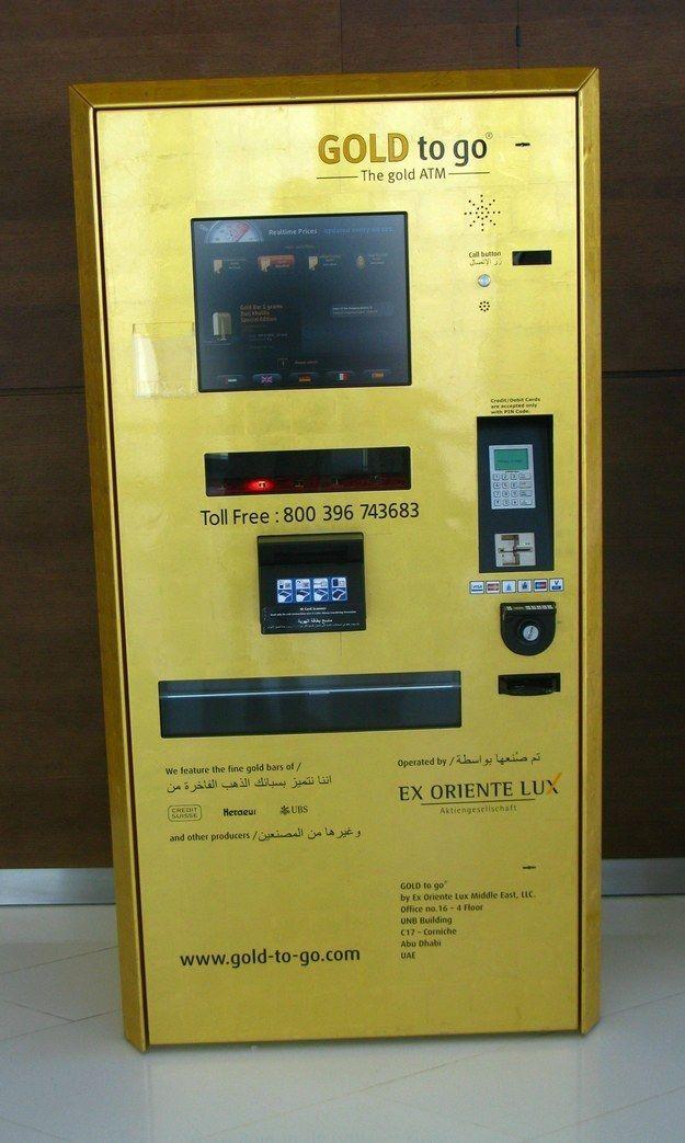 Mesin ATM yang Bisa Ngeluarin EMas