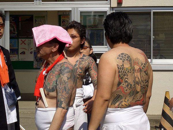 Kumpulan Foto Tatto Anggota Yakuza Jepang Yang Indah Sekaligus Serem !