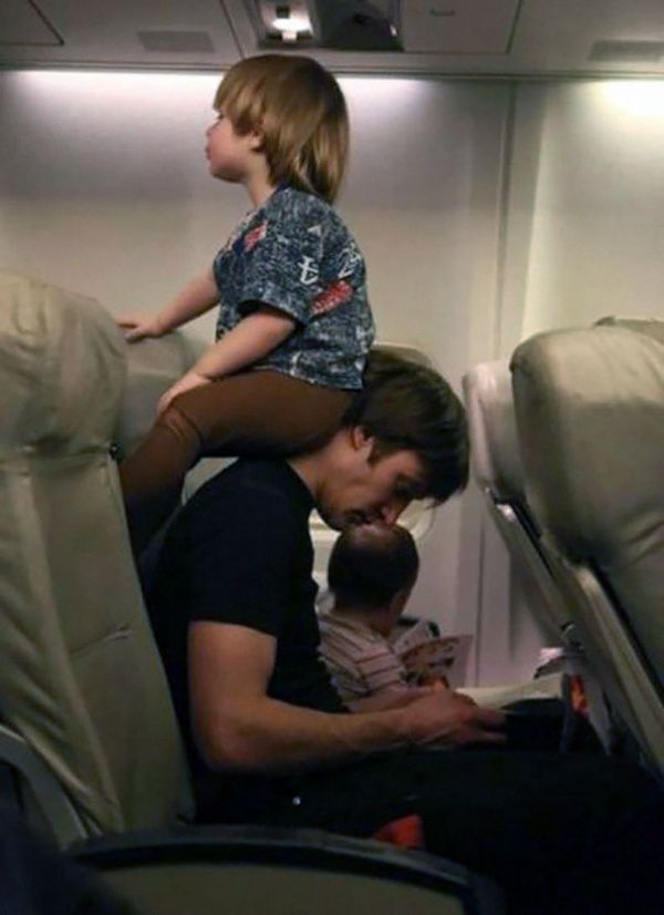 stay strong dad! nanti pulangnya dipakein koyo ya..