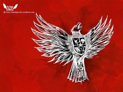 Garuda Julukan ini mengacu pada symbol Negara indonesia