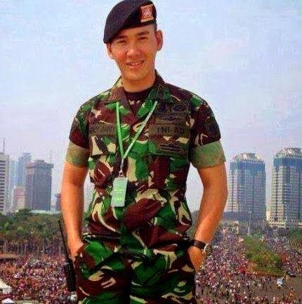 Dari tentara lagi nih, Letda Panji Ardiansyah