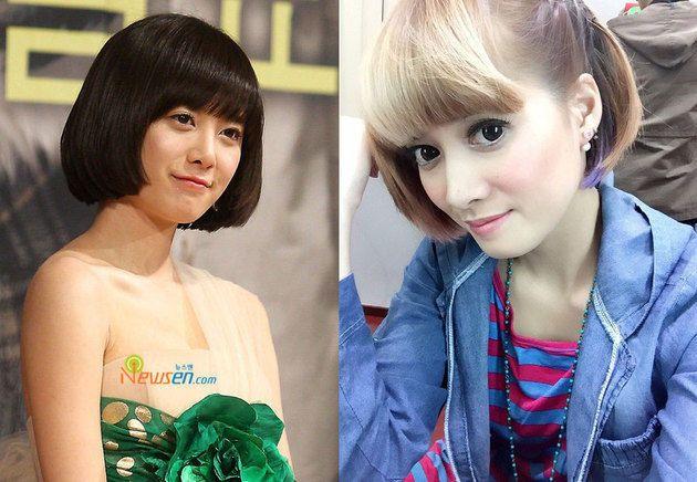Ini lagi Chika Jessica Mirip dengan Koo Hye Sun