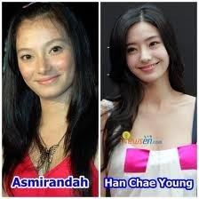 Ini lagi Foto Asmirandah Mirip dengan Han Chae Young