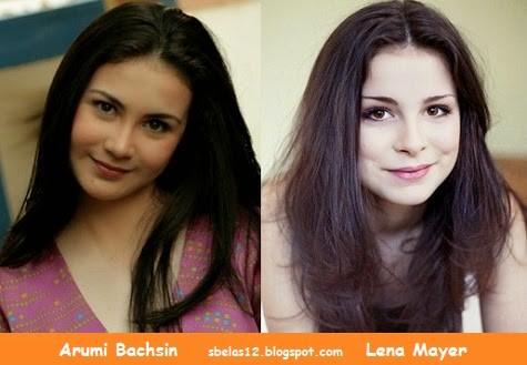ini lagi Foto Arumi Bachsin Mirip dengan Lena Mayer