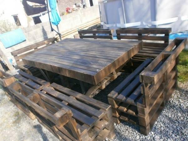 Keren 10 desain furniture ini memanfaatkan pallet kayu bekas - Fabriquer son salon de jardin avec des palettes ...