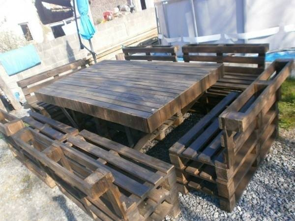 Keren 10 desain furniture ini memanfaatkan pallet kayu bekas - Meubles de jardin en palettes ...