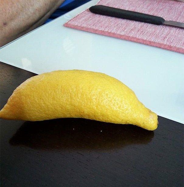 aneh banget deh ini lemon apa pisang ya? ada yang bisa jawab?