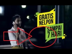 Penampakan Makhluk Halus di Iklan TV Indonesia