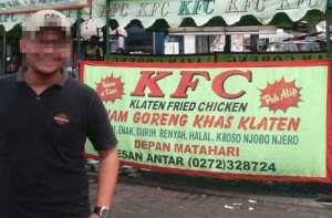 KFC sudah menjangkau kalangan bawah..
