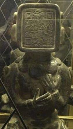 [MISTERI] PIN BB pada Patung Suku Maya, apakah Fakta atau Hoax?