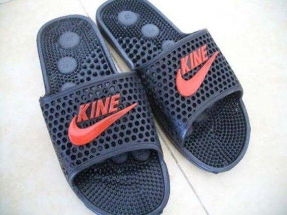Masih niru merek NIKE, tapi kali ini namanya KINE