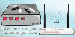 Aada yang belum tau Perbedaan dari Wireless Router dengan Modem ?