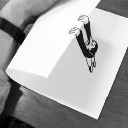 13 Gambar Menakjubkan di Kertas Hitam Putih