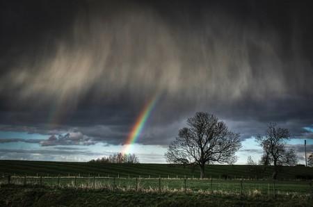 Gambar pelangi dan badai by Jessica Keating Photography