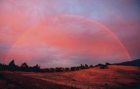 Gambar pelangi dan sunsite by Steve Jurvetson