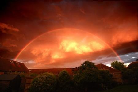 Pelangi cekung cahaya mega by Cloudzilla
