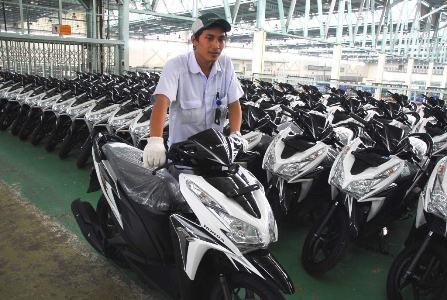 2. Honda Vario Series 1.277.024 unit