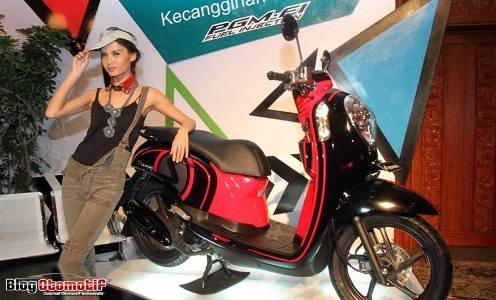 4. Honda Scoopy 350.925 unit