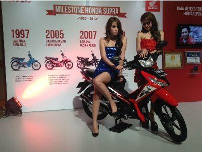 6. Honda Supra X 173.487 unit