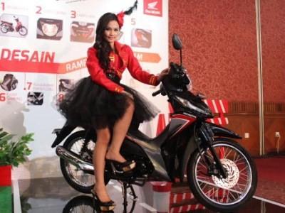 7. Honda Revo 164.591 unit