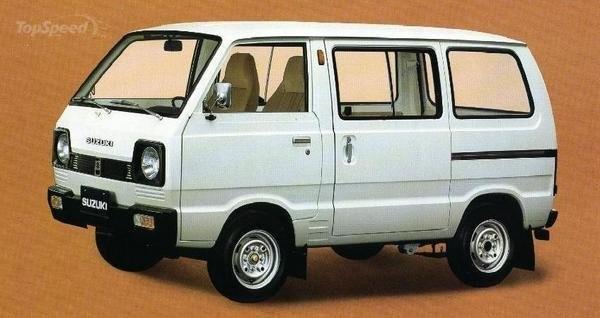 Suzuki Carry. Sekarang lebih banyak beroperasi sebagai kendaraan umum.