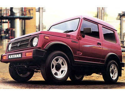 Suzuki Katana. Bentuknya yang sporty dan mungil menarik minat banyak generasi muda pada masanya.