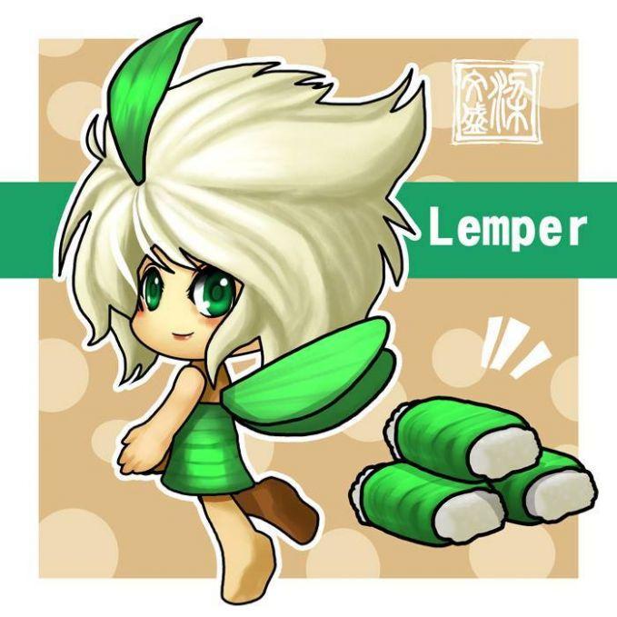 Lemper Kue lemper biasanya dibuat dari beras ketan yang dalamnya berisi daging ayam.