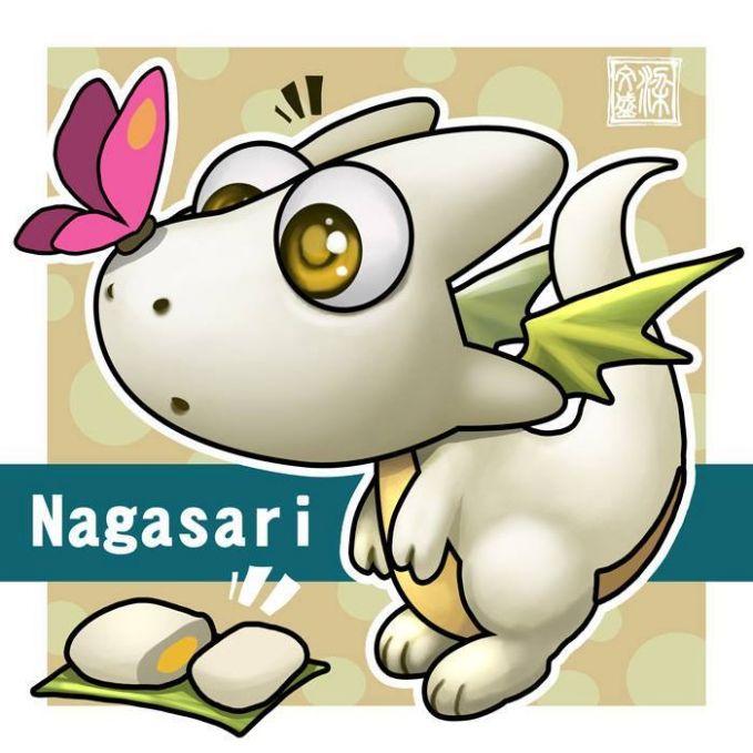 Nagasari Nagasari adalah jajanan tradisional biasanya terbuat dari tepung beras yang berisi pisang didalamnya.
