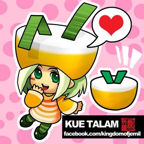 Kue Talam Salah satu kue tradisional Indonesia yang bisa dijumpai disetiap daerah.