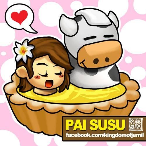 Pie Susu Kue pie ini berasal dari bali yang dalamnya berisi krim susu yang manis dan lezat..hmm..