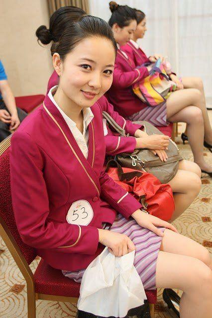 Beginilah Foto Foto Pendidikan Ekstrim Menjadi Pramugari di China